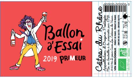 Ballon d'Essai Etiquette 1