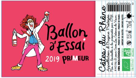 Ballon d'Essai Etiquette 2