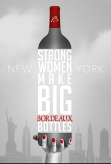 Strong women make big Bordeaux bottles